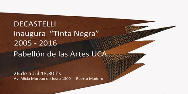 La nueva obra de Decastelli, en el Pabellón de las Bellas Artes de la UCA