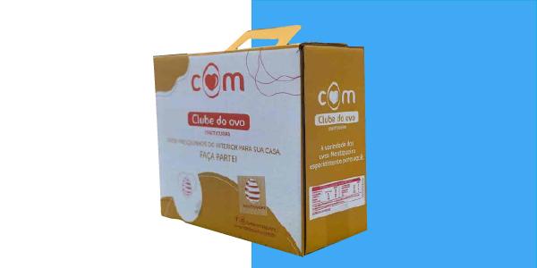 Empaque para E-Commerce: Una solución novedosa en cajas para huevos