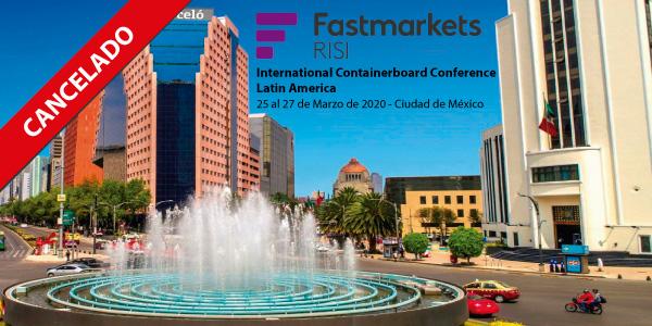 Conferencia Latinoamericana de Papeles para Corrugar que iba a realizarse en México se ha cancelado