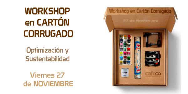 WORKSHOP en CARTÓN CORRUGADO 2020