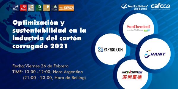 Conferencia Internacional de Optimización y Sustentabilidad en la industria del Cartón Corrugado