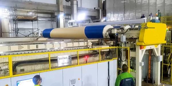 Se puso en marcha la nueva máquina de papel Kraft del proyecto Puma II de Klabin