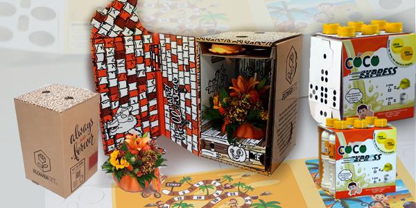 Premios latinoamericanos a los mejores diseños de cajas y estructuras de cartón corrugado
